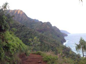 View at start of Kalalau Trail