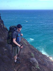 Hiking crawlers ledge