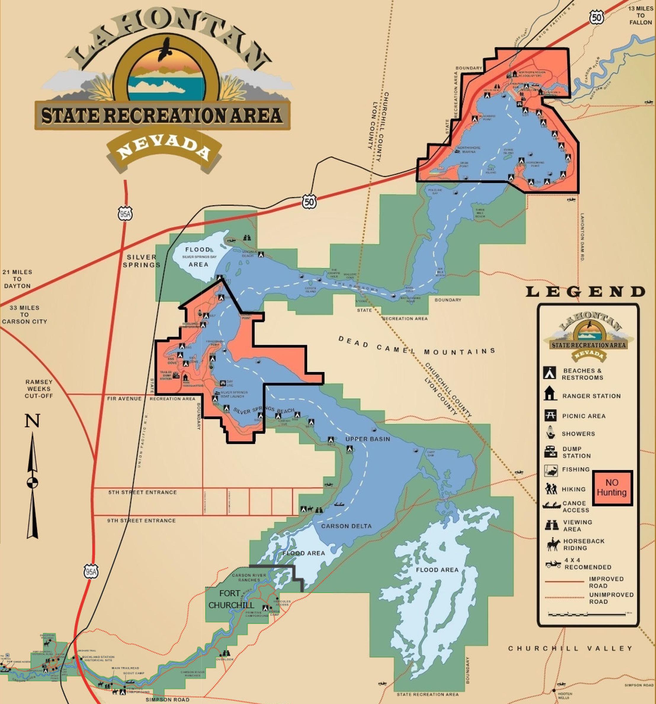 Lahontan Map