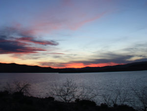 Sunset at Lake Lahontan